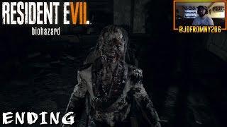 THE END Of Resident Evil 7 - Resident Evil 7 FINAL PART & FINAL BOSS FIGHT