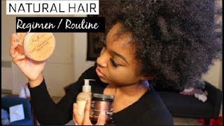 4b/4c NATURAL HAIR REGIMEN/ROUTINE   PART ONE