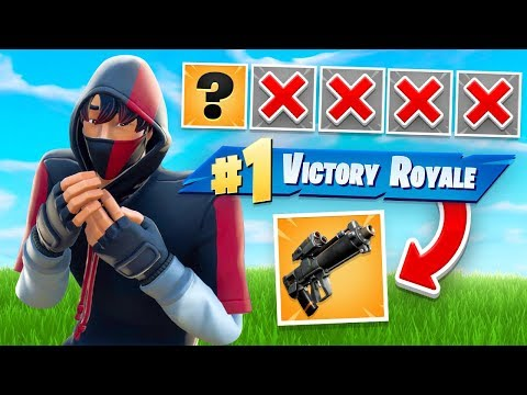 WINNING With FIRST GUN ONLY Challenge In Fortnite