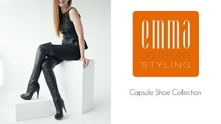 || Capsule shoe collection || Emma Lightbown ||