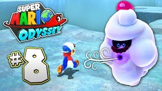 SUPER MARIO ODYSSEY Part 8 - SNOW KINGDOM - AWESOME MINI GAME!