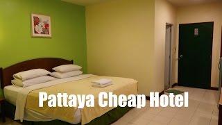Pattaya Hotel - Cheap, but is it Cheerful...???