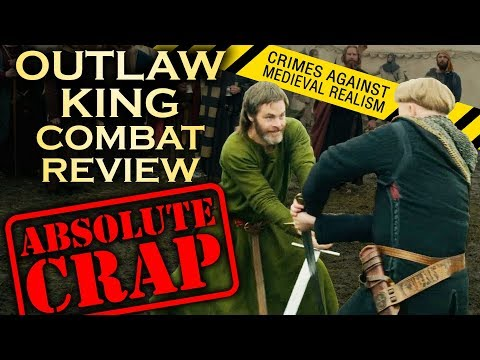 Xxx Mp4 Outlaw King COMBAT And BATTLE Review Crimes Against Medieval Realism 3gp Sex
