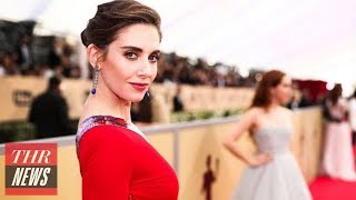 Alison Brie Breaks Silence on Brother-In-Law James Franco's Sexual Harassment Claims | THR News