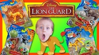 LANDON'S TOY REVIEW: The Lion Guard Kion, Bunga, Fuli, Beshty Playsets!