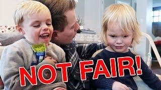 KIDS SHARING Game Is NOT FUN Or FAIR! 😂