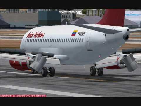 Aterrizajes en Maiquetia SVMI