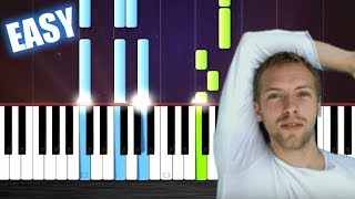 Coldplay - The Scientist - EASY Piano Tutorial by PlutaX