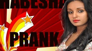Actress Mahder Assefa Amaizingly Pranked by Habesha Prank full show 2014