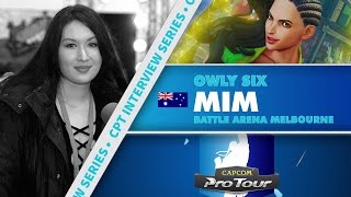 SFV: CPT Interview Series - Mim (Battle Arena Melbourne 9)