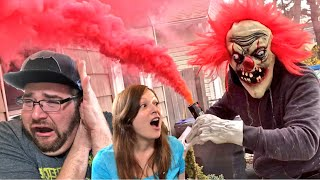 KLOWN'S TOXIC RED GAS CLOUD RUINS OUR HOUSE!