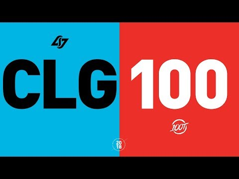 Xxx Mp4 CLG Vs 100 NA LCS Week 1 Match Highlights Summer 2018 3gp Sex