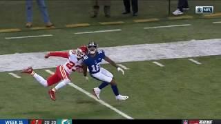 Roger Lewis INSANE Overtime Catch!   Chiefs vs. Giants   NFL
