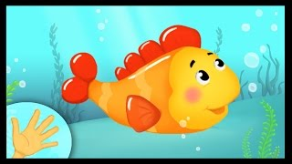 Comptinette du poisson - comptine à gestes