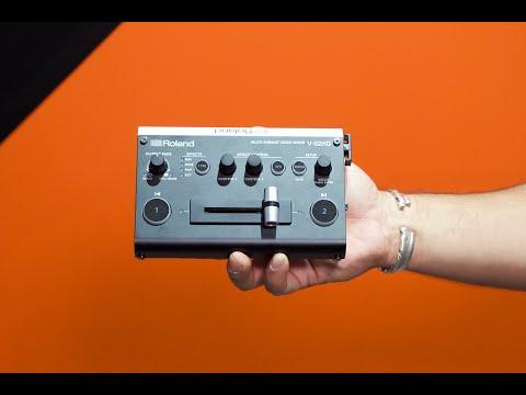 Roland V-02HDMulti-Format Video Mixer – Interbee 2018