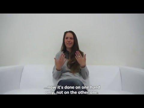 Beautiful Czech model Angela Talking About SeX  89
