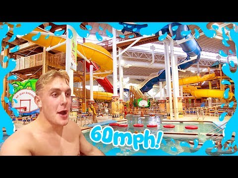 FASTEST WATER SLIDE IN THE WORLD 60 MPH