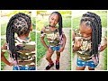 Download Video Download Railroad Tracks Into Singles | Children's Natural Hair Care 3GP MP4 FLV