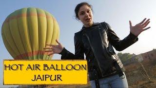 Hot Air Balloon Ride || Jaipur