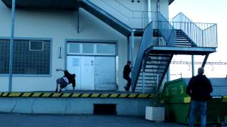 Parkour Chase (freerunning)