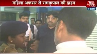 Modi's Minister Denied VIP treatment At Airport By Female Officer