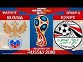 Russia vs Egypt ⚽️ | FIFA World Cup Russia 2018 | MATCH 17 | 19/06/2018 | FIFA 18