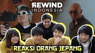NGAKAK! REAKSI ORANG JEPANG LIAT YOUTUBE REWIND INDONESIA 2018 - RISE