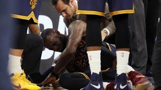 LeBron James Fakes Injury? Spurs Blowout Cavs, Lose 1st Seed!