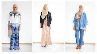 Summer Hijab lookbook Tribal