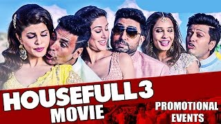 Housefull 3 Movie (2016) Promotional Events | Akshay Kumar, Riteish Deshmukh, Abhishek Bachchan