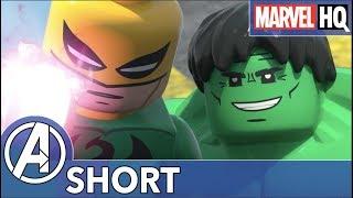Hulk vs. Abomination! | Marvel LEGO Maximum Overload | Episode 4