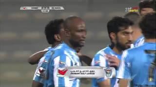الوصل 5 - 1 دبا - بوريس كابي يحرز هدف التعادل لدبا أمام الوصل (الجولة 25)   AL WASL 5-1 DIBBA