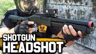 AIRSOFT   TDM Hardcore   Só Headshot   Shotgun M870 Tokyo Marui GBB