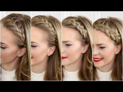 Four Headband Braids   Missy Sue