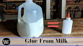How to Make Kid Safe Glue From Milk | All Natural Non Toxic