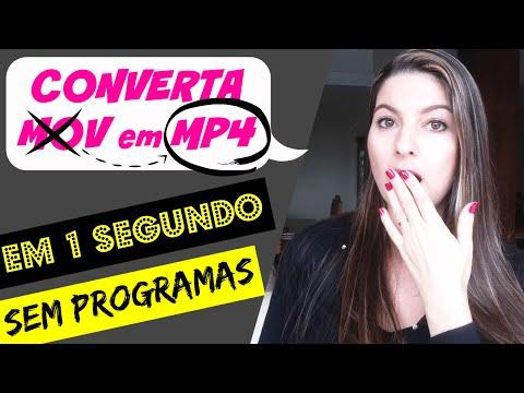 Xxx Mp4 Como Converter MOV Em MP4 Instantaneamente SEM PROGRAMA Juliana Zammar 3gp Sex