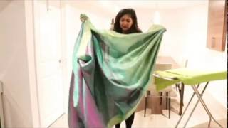 The Art Of Wearing A Saree - Pleating & Ironing A Saree