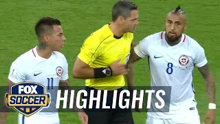 Eduardo Vargas goal overturned after VAR review  | 2017 FIFA Confederations Cup Highlights