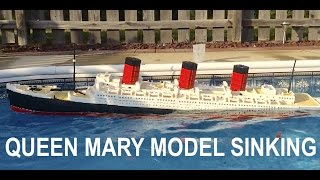 LEGO Queen Mary Model Sinking 【7+ ft model】