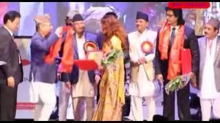 दयाहंग राईको ह्याट्रिक Cine Jagat | Award Function 2073 Report | Sameer Balami