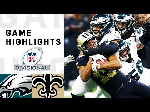 Xxx Mp4 Eagles Vs Saints Divisional Round Highlights NFL 2018 Playoffs 3gp Sex