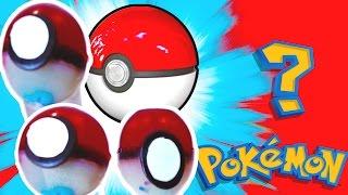DIY JELLO GUMMY POKEBALLS! Mystery Pokemon Surprise Inside!!