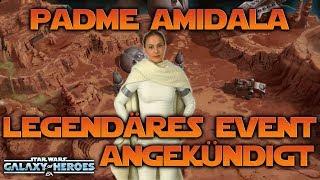 Padme Amidala im Legendary Event angekündigt   Star Wars: Galaxy of Heroes