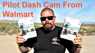 Cheap Walmart Pilot Dash Cam Review