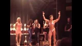 2015 SunCoast Women's BodyBuilding Winner - Tampa