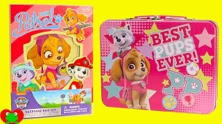 Paw Patrol Skye Diary Set and Lunch Box Surprises