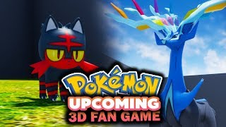NEW Pokémon ALL STAR 3D FAN GAME! - (UPCOMING 3D FAN GAME!)