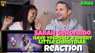 Sarah Geronimo - Have Yourself A Merry Little Christmas - Xmas Reaction