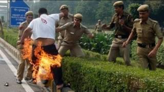 Un Tibétain s'immole par le feu devant l'ambassade de Chine en Inde