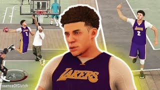 LONZO BALL LAKERS MIXTAPE NBA 2K17